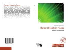 Portada del libro de Romani People in France