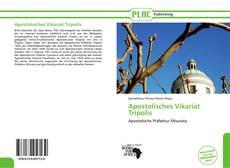 Apostolisches Vikariat Tripolis kitap kapağı
