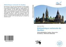 Обложка Bibliothèque nationale du Québec