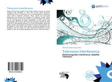 Bookcover of Television Interference