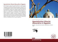 Bookcover of Apostolisches Vikariat Alexandria in Ägypten