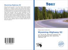 Bookcover of Wyoming Highway 92