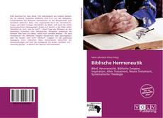 Bookcover of Biblische Hermeneutik