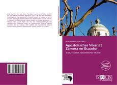 Apostolisches Vikariat Zamora en Ecuador kitap kapağı