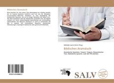 Bookcover of Biblisches Aramäisch