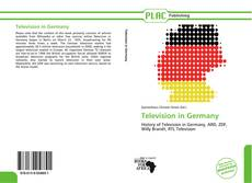 Bookcover of Television in Germany