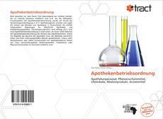 Bookcover of Apothekenbetriebsordnung