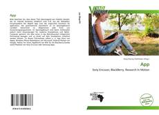 Bookcover of App