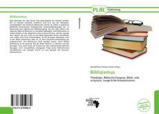 Bookcover of Biblizismus