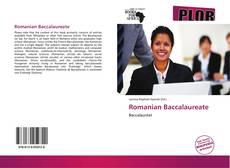 Romanian Baccalaureate kitap kapağı