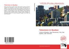 Buchcover von Television in Quebec