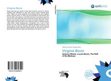 Capa do livro de Virginie Bovie