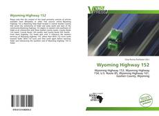 Bookcover of Wyoming Highway 152