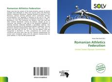 Romanian Athletics Federation kitap kapağı