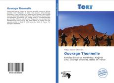 Bookcover of Ouvrage Thonnelle