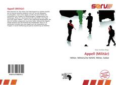 Appell (Militär) kitap kapağı