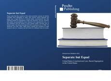 Capa do livro de Separate but Equal