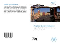 Bookcover of Virginia Class Submarine