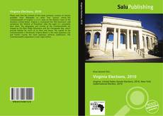 Bookcover of Virginia Elections, 2010