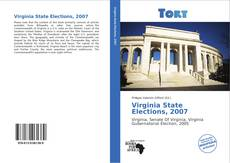 Bookcover of Virginia State Elections, 2007