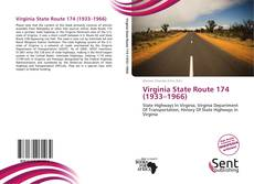 Bookcover of Virginia State Route 174 (1933–1966)