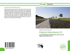 Capa do livro de Virginia State Route 25