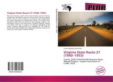 Bookcover of Virginia State Route 27 (1940–1953)