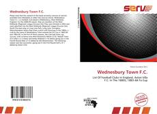 Bookcover of Wednesbury Town F.C.