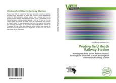 Bookcover of Wednesfield Heath Railway Station