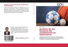 Buchcover von Análisis de los factores de rendimiento en balonmano