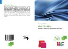 Buchcover von Wee Han Wen