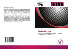 Bookcover of Weed Airport