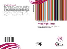 Bookcover of Weed High School