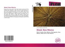 Capa do livro de Weed, New Mexico