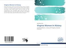 Couverture de Virginia Women In History
