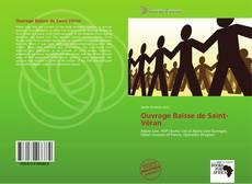 Capa do livro de Ouvrage Baisse de Saint-Véran