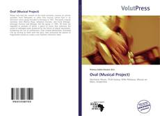 Capa do livro de Oval (Musical Project)