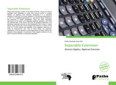 Bookcover of Separable Extension