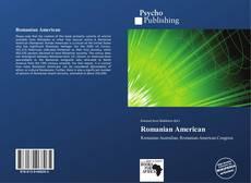 Romanian American kitap kapağı