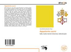 Bookcover of Appetente sacro