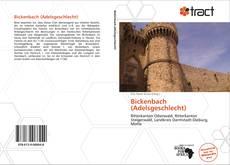 Borítókép a  Bickenbach (Adelsgeschlecht) - hoz