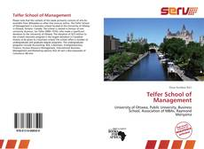 Telfer School of Management kitap kapağı