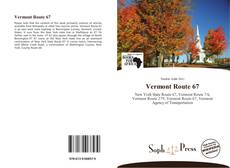 Bookcover of Vermont Route 67
