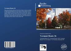 Bookcover of Vermont Route 36