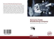 Bookcover of Romanian Radio Broadcasting Company