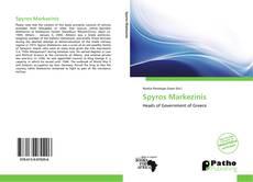 Copertina di Spyros Markezinis