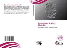 Couverture de Separation Anxiety Disorder