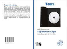 Couverture de Separation Logic