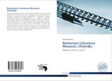 Couverture de Romanian Literature Museum, Chişinău
