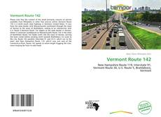 Bookcover of Vermont Route 142